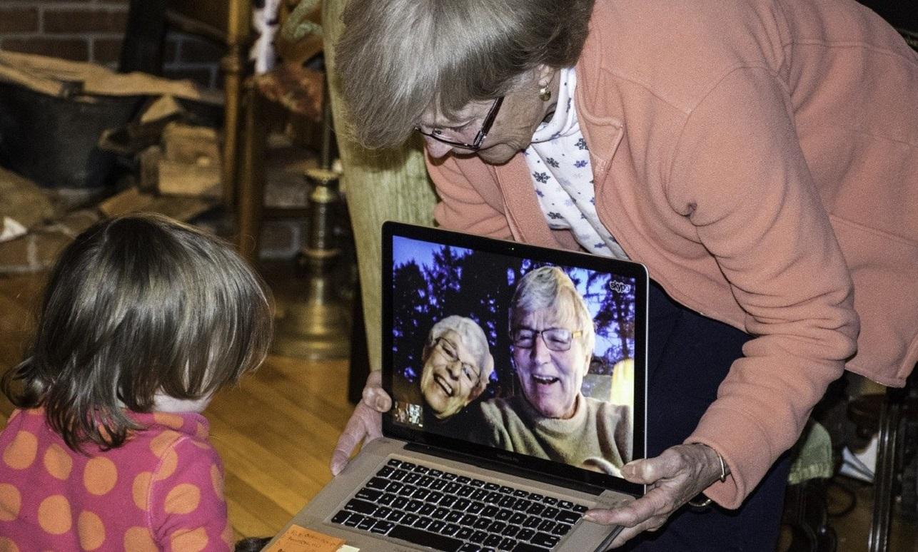 Videollamadas para estar conectados