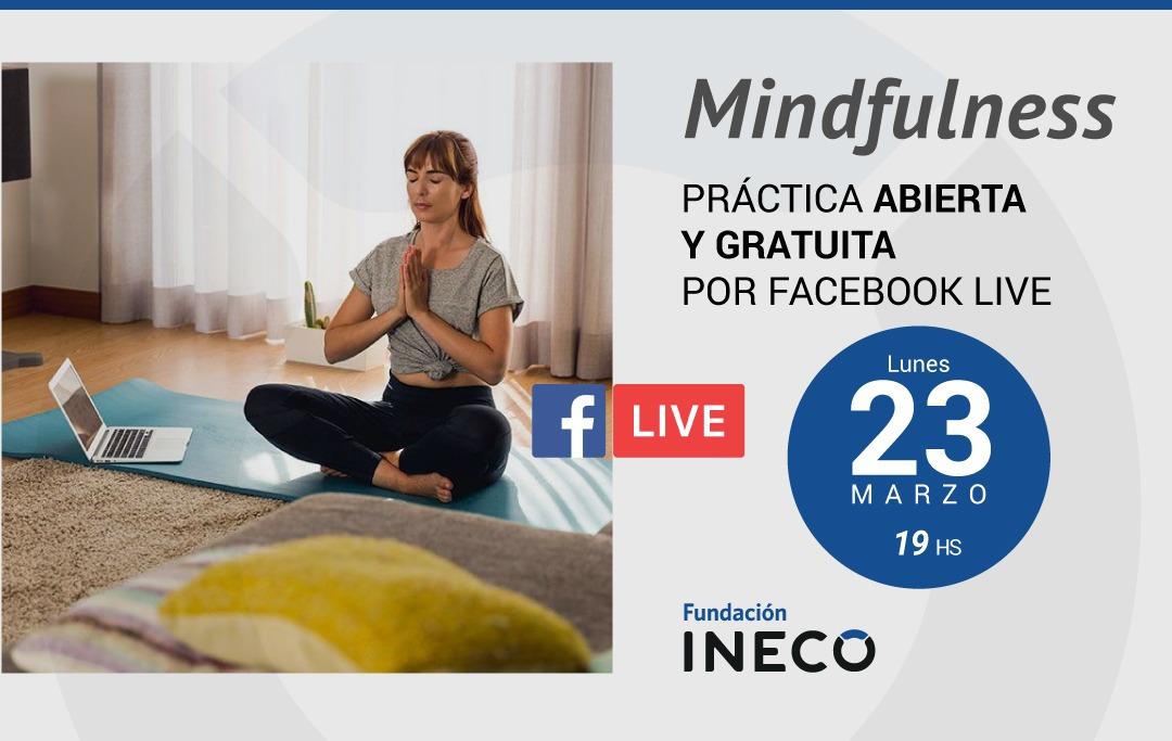 Invitación a clase abierta via Facebook para Mindfulness