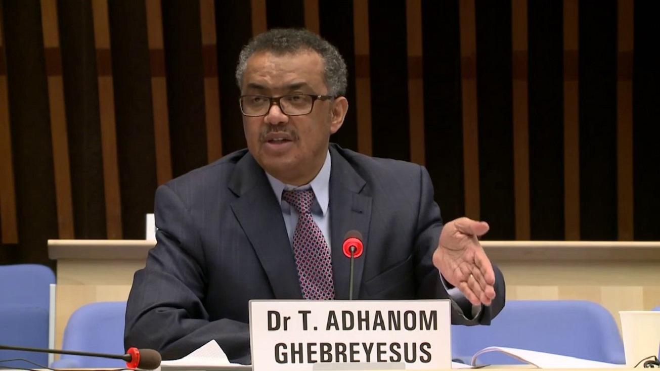 Tedros Adhanom Gebreyesus, director de la OMS