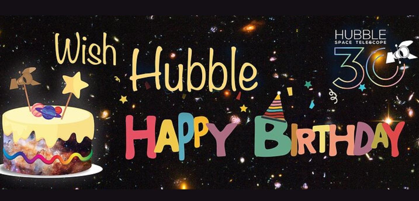 El telescopio Hubble cumple 30 años.