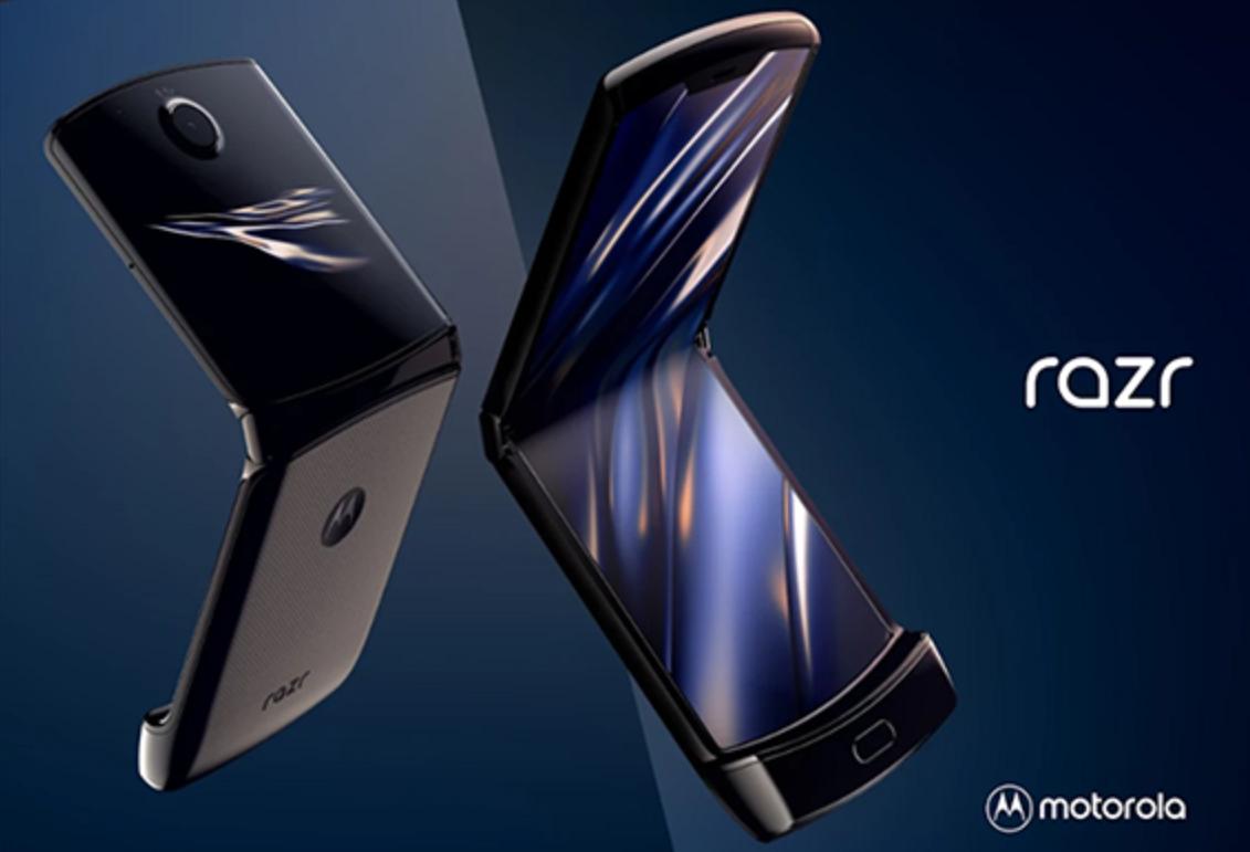 El nuevo smartphone plegable de Motorola.