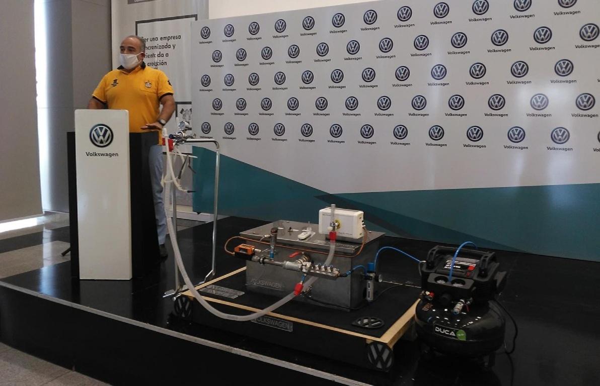 Un respirador para el Covid-19 fabricado por una automotriz.