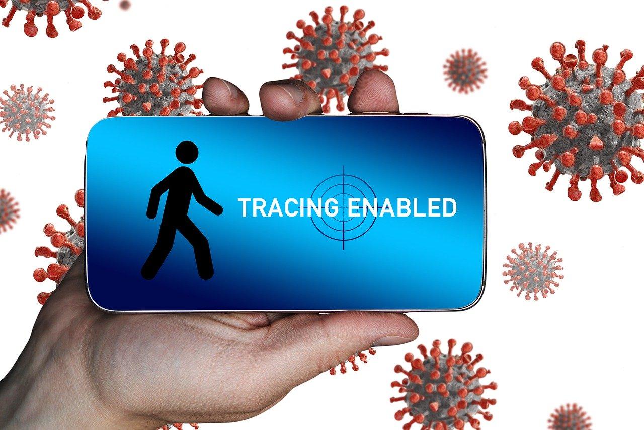 App de celular para rastreo de contactos
