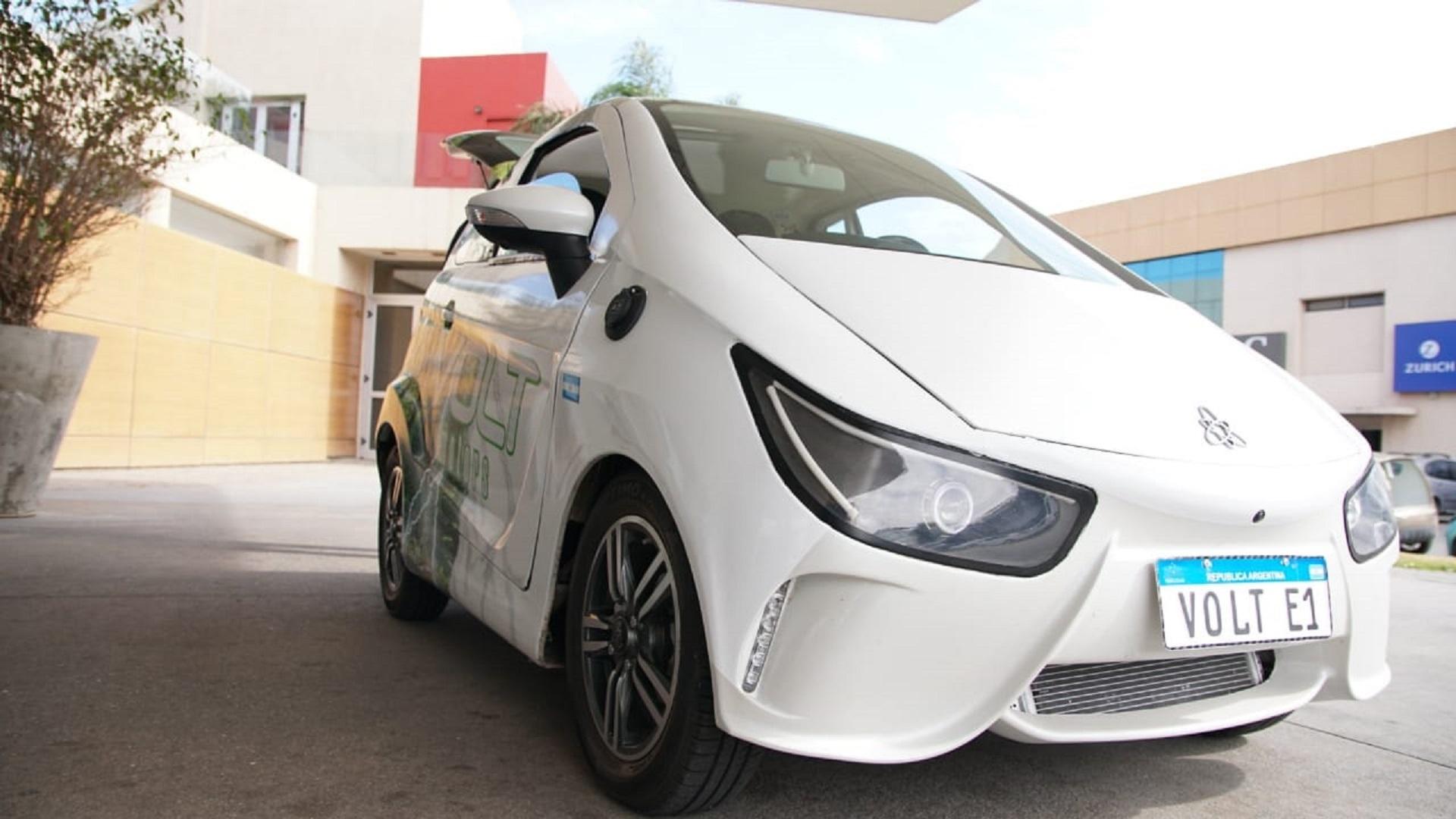 Auto eléctrico argentino