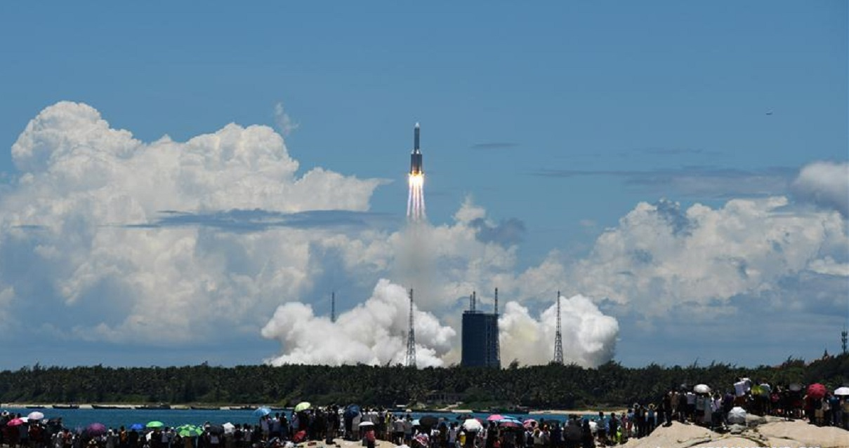 Tianwen-1: misión china a Marte.