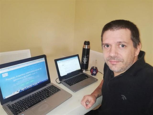 Darío Fernández Do Porto, bioinformático y docente de la UBA.