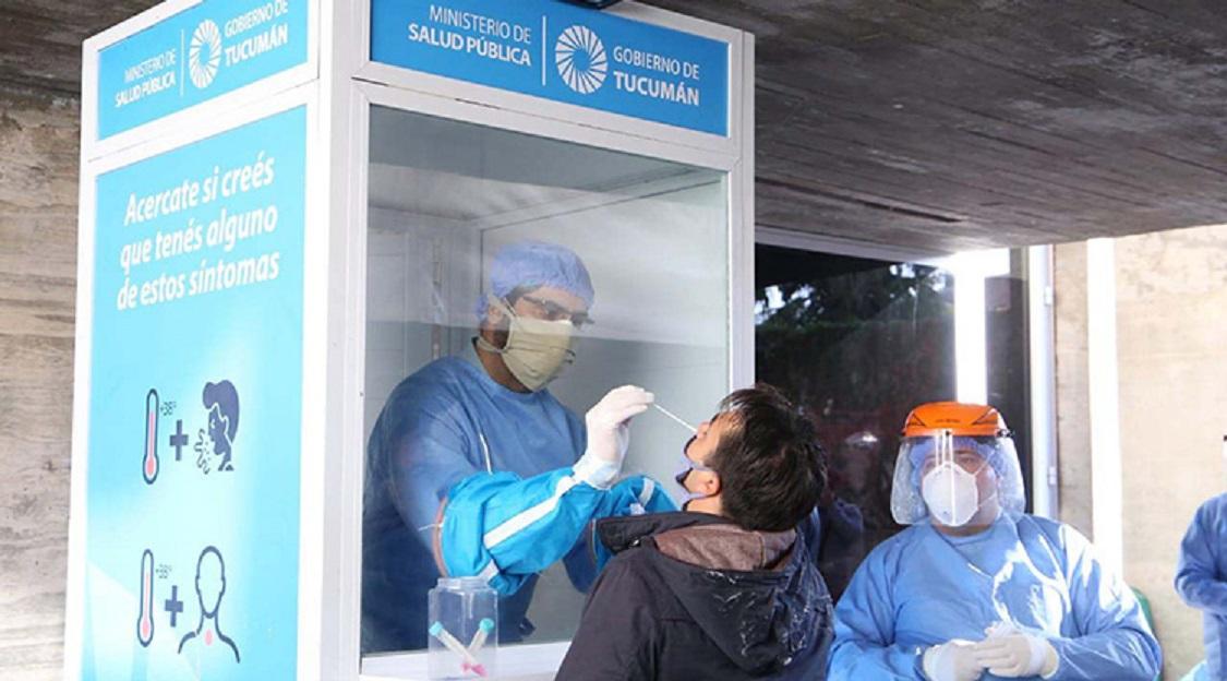 Hisopado: clave contra la pandemia.