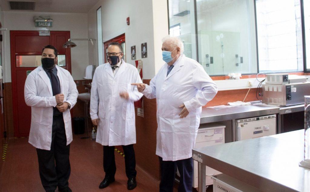 Un nuevo lab de alta tecnología en el Malbrán.