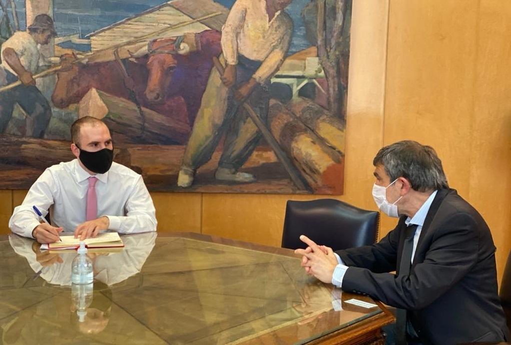Ministros Roberto Salvarezza y Guzman.