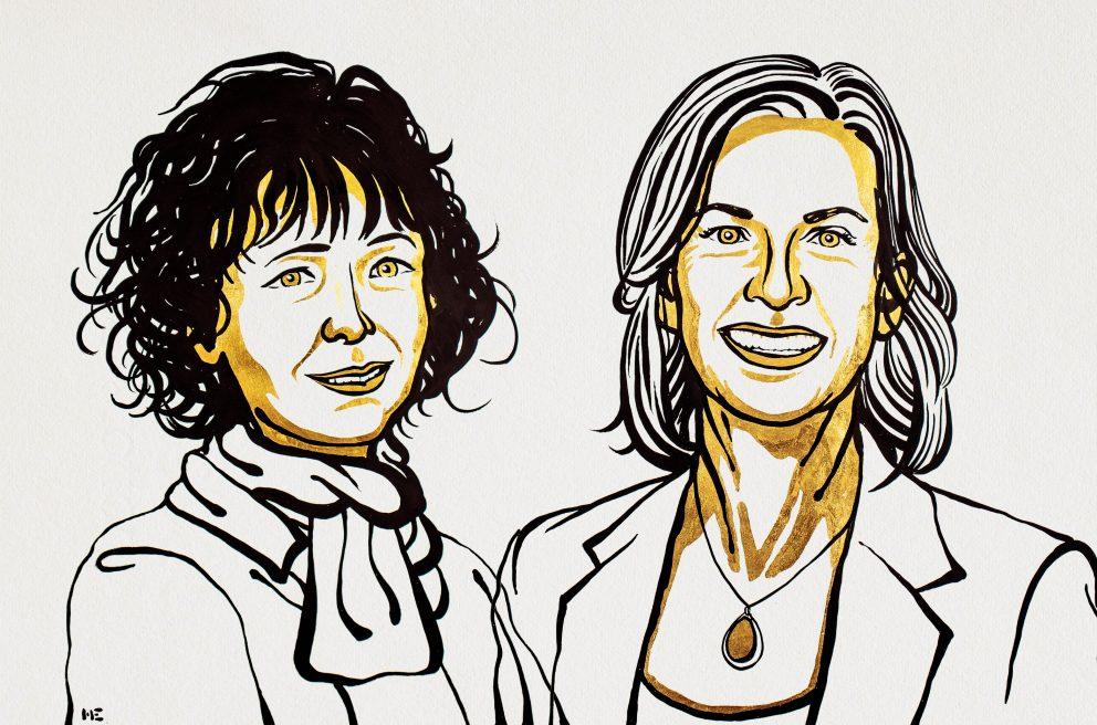 Charpentier y Doudna galardonadas con el Nobel de Química 2020.
