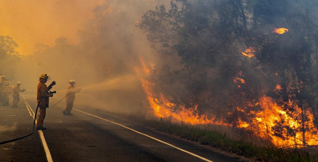Incendios descontrolados en diferentes países del mundo.