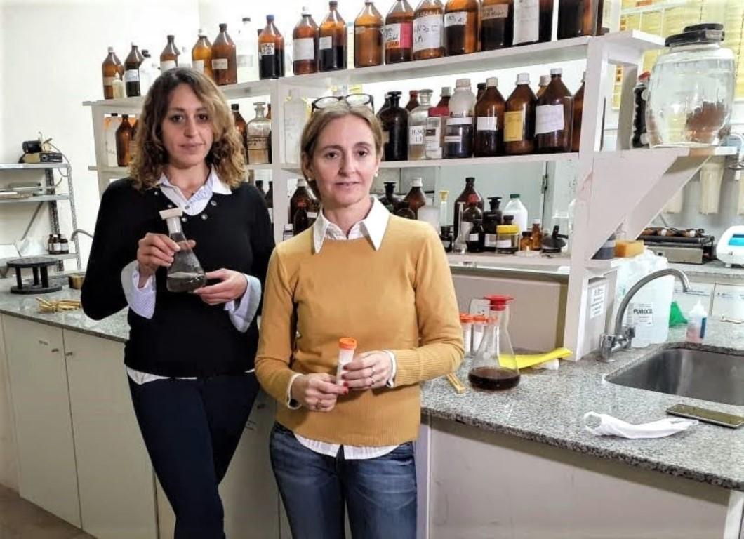 Guadalupe Canosa y Paula Alfieri de la Universidad Tecnológica en La Plata.