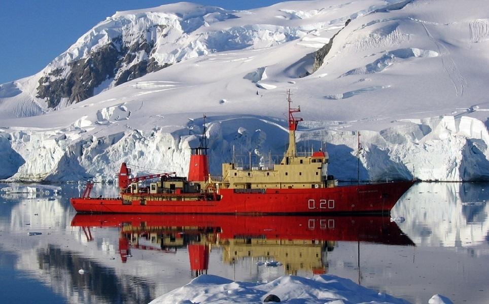 Una campaña oceanográfica en la Antártida.