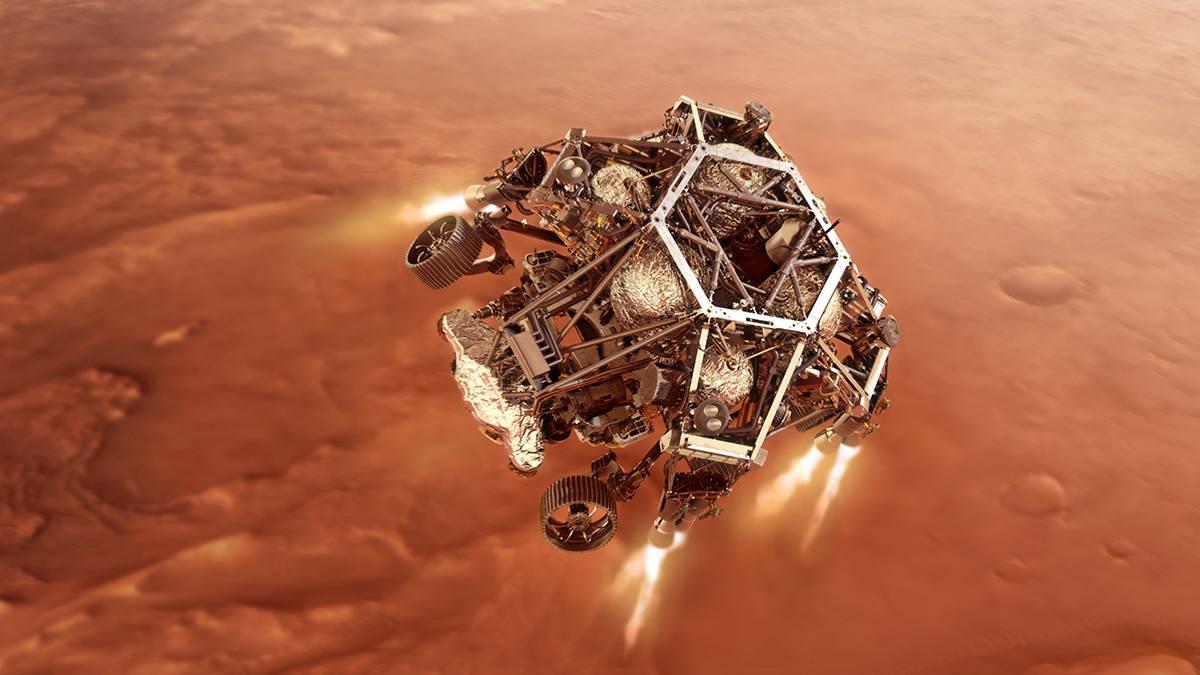 El aterrizaje en Marte del rover Mars Perseverance se podrá seguir, con comentarios en español a través del canal de la NASA.