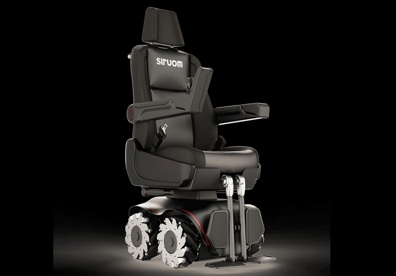 SIRUOM es la silla de ruedas omnidireccional que aporta mayor autonomía y libertad de movimiento a las personas con discapacidad.