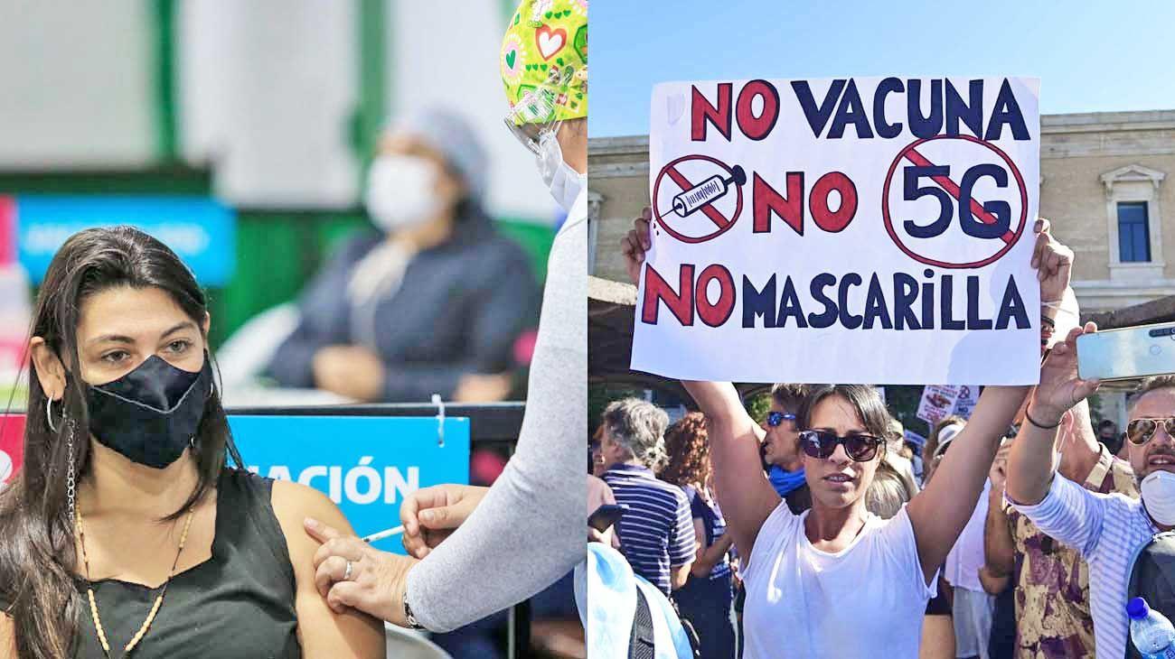 Pese a los debates online la predisposición de la población a aplicarse la vacuna contra el COVID-19 aumentó de forma considerable.