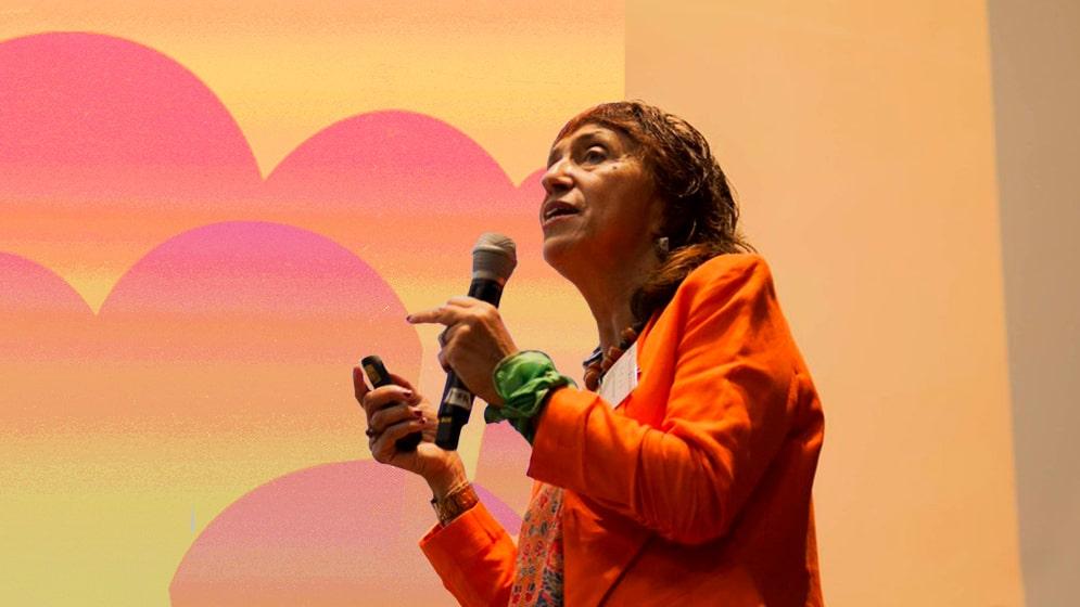Silvia Kochen, vicedirectora de la Unidad Ejecutora de Estudios en Neurociencias y Sistemas Complejos.
