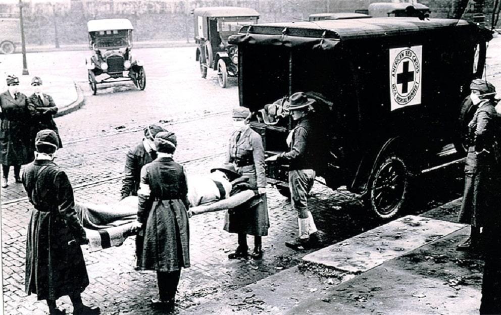 Las pandemias pueden repetirse. Como esta de gripe en 1918.